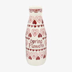 Personalised Sampler Large Milk Bottle