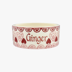 Personalised Sampler Small Pet Bowl