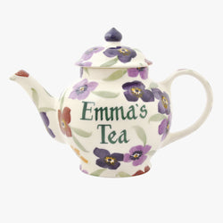 Personalised Wallflower 2 Mug Teapot