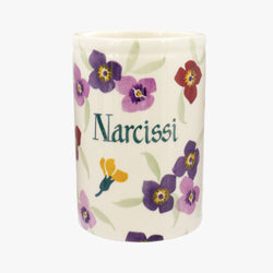 Personalised Wallflower Medium Vase