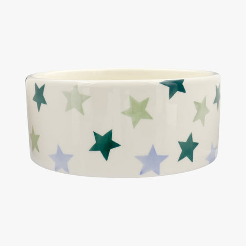 Personalised Winter Star Large Pet Bowl