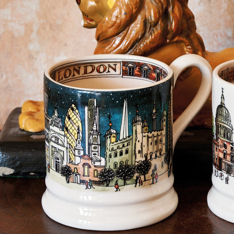 London at Night 1/2 Pint Mug Boxed
