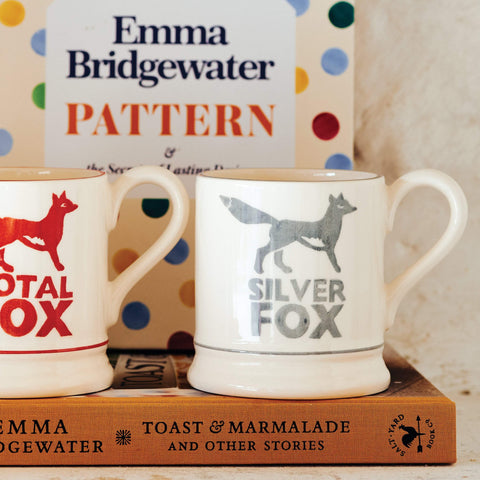 Silver Fox 1/2 Pint Mug Boxed