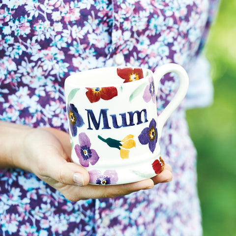 Wallflower Mum 1/2 Pint Mug Boxed
