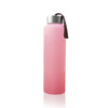 Vattenflaska i Glas med Splitterskydd<br /> 400 ml Rose Pink - Everyday Baby AB