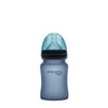 Nappflaska i Glas med Värmeindikator 150 ml Blueberry - Everyday Baby AB