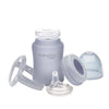 Pipmugg i Glas 150 ml Quiet Grey - Everyday Baby AB