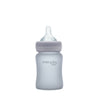 Nappflaska i Glas 150 ml Quiet Grey