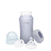 Nappflaska i Glas<br /> 240 ml Quiet Grey - Everyday Baby AB