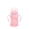 Pipmugg i Glas 150 ml Rose Pink - Everyday Baby AB