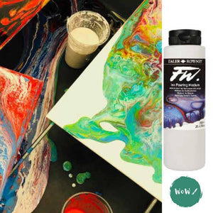Tips for mixing Daler Rowney FW Pouring Mediums & Inks