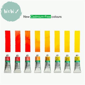 About Winsor & Newton new CADMIUM FREE Watercolours