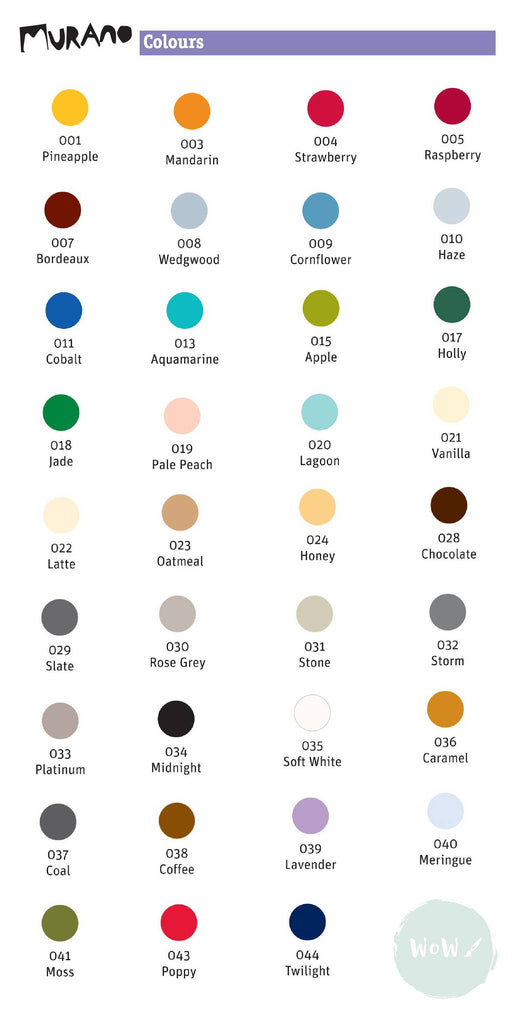 Daler Rowney Murano 160gsm 98lb textured coloured heavy paper A4 range of colours