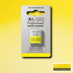 Winsor & Newton Professional (Artists) Water Colour HALF PAN -  BISMUTH YELLOW