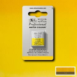 Winsor & Newton Professional (Artists) Water Colour HALF PAN -  CADMIUM YELLOW PALE