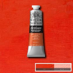 Winsor & Newton ARTISAN water-mixable Oil Colour 37 ml tube-  CADMIUM RED LIGHT