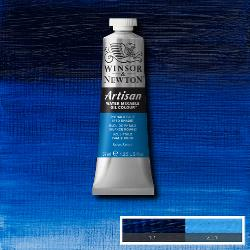 Winsor & Newton ARTISAN water-mixable Oil Colour 37 ml tube-  PHTHALO BLUE (RED SHADE)