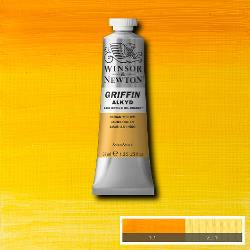 Winsor & Newton GRIFFIN Fast-drying Alkyd Oil Colour 37ml tube-	Indian Yellow