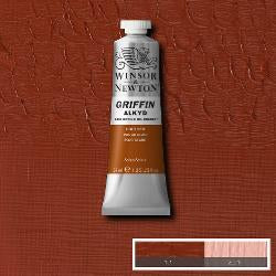 Winsor & Newton GRIFFIN Fast-drying Alkyd Oil Colour 37ml tube-	Light Red