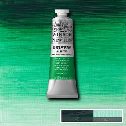 Winsor & Newton Griffin Alkyd Oil Colour 37ml tube-	Phthalo Green (Yellow Shade)