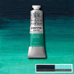 Winsor & Newton Griffin Alkyd Oil Colour 37ml tube-	Phthalo Green