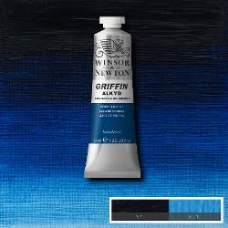 Winsor & Newton Griffin Alkyd Oil Colour 37ml tube-	Prussian Blue