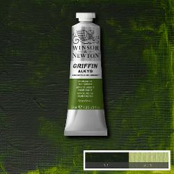 Winsor & Newton GRIFFIN Fast-drying Alkyd Oil Colour 37ml tube-	Permanent Sap Green