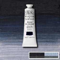 Winsor & Newton Artist Oil Colour 37ml tube-  BLUE BLACK