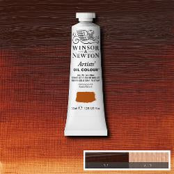 Winsor & Newton Artist Oil Colour 37ml tube-  BURNT SIENNA