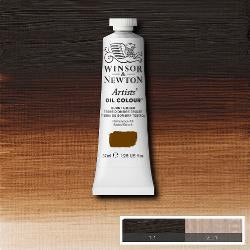 Winsor & Newton Artist Oil Colour 37ml tube-  BURNT UMBER