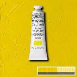 Winsor & Newton Artist Oil Colour 37ml tube-  CADMIUM LEMON NY-1214