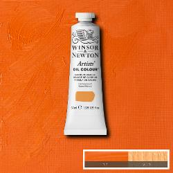 Winsor & Newton Artist Oil Colour 37ml tube-  CADMIUM ORANGE NY-1214