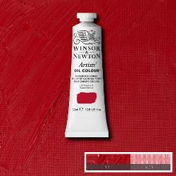 Winsor & Newton Artist Oil Colour 37ml tube-  CADMIUM RED DEEP