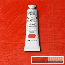 Winsor & Newton Artist Oil Colour 37ml tube-  CADMIUM SCARLET
