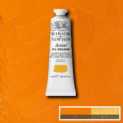 Winsor & Newton Artist Oil Colour 37ml tube-  CADMIUM YELLOW DEEP