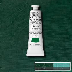 Winsor & Newton Artist Oil Colour 37ml tube-  CHROME GREEN DEEP HUE