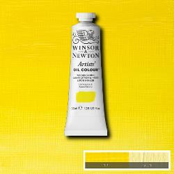 Winsor & Newton Artist Oil Colour 37ml tube-  WINSOR LEMON