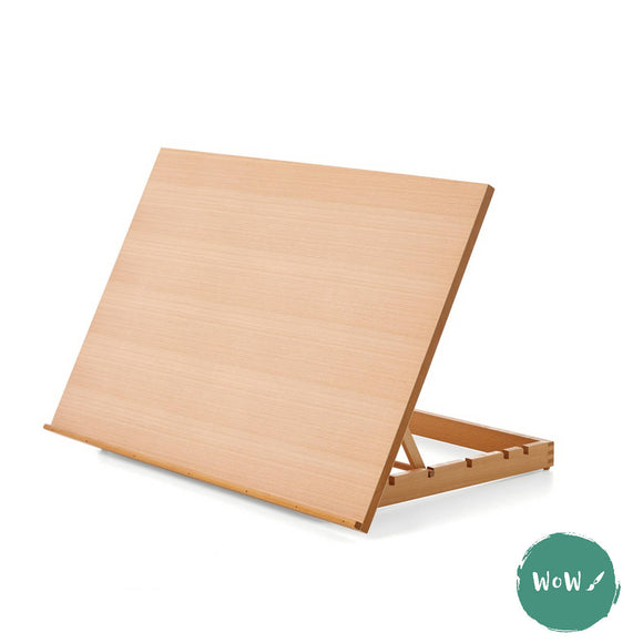 Table Easel- A2+ Wooden Art & Craft Drawing Board