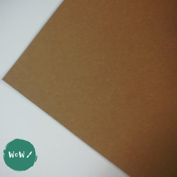 Sugar Paper- A1, 140 gsm- 50 sheet pack- Brown