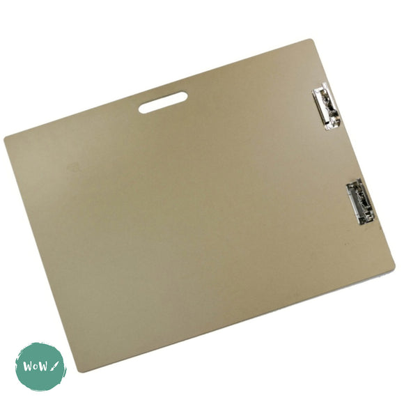 Drawing Boards- Large MDF with Carrying Handle & Clips A2+ by Frisk