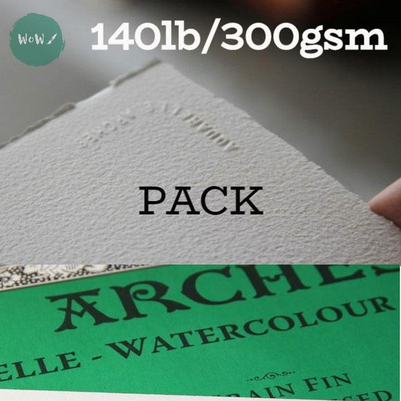 Arches Aquarelle Watercolour paper sheet 140lb/300gsm, 22 x 30