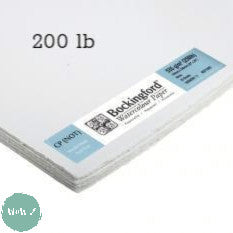 "Bockingford Watercolour paper sheets 22 x 30"", 200lb NOT Surface"
