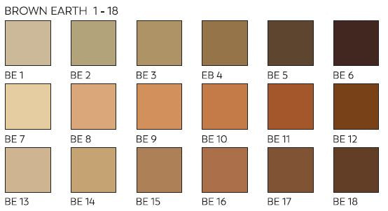 Unison Pastels Brown Earth Shades