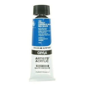 Daler Rowney Cryla Artists Acrylic 75ml Tubes-  COBALT CHROMITE BLUE (RS)