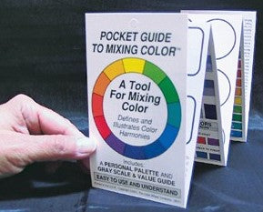 Pocket Guide to Mixing Colours by Color Wheel