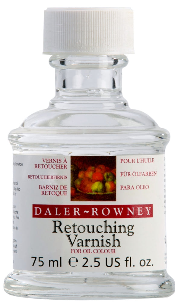 Daler Rowney Oil Paint Retouching Varnish 75ml