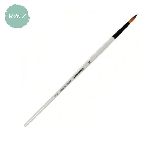 Daler Rowney Graduate Brush Synthetic ROUND 16 Long handle