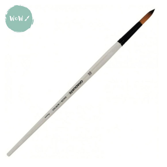 Daler Rowney Graduate Brush Synthetic ROUND 20 Long handle
