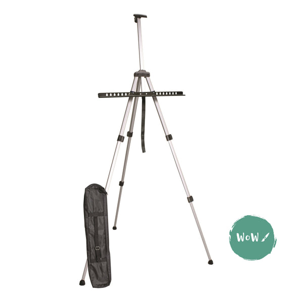 Lightweight Aluminium Portable Field, Sketching Easel & Carry bag