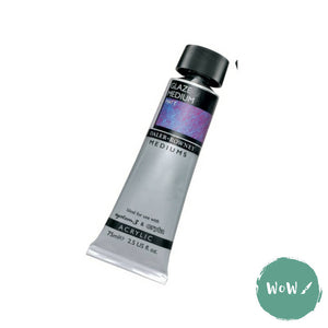 Daler Rowney Acrylic Medium- GLAZE MEDIUM MATT 75ml tube